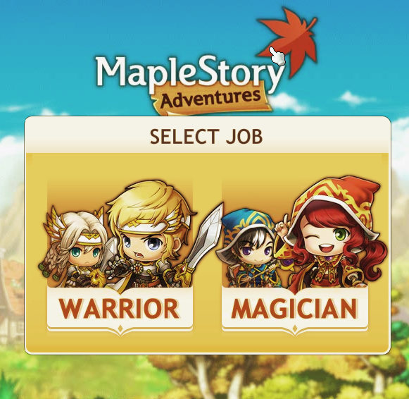 MapleStory Adventures Title