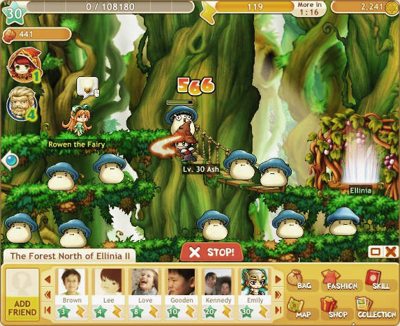 MapleStory Adventures SS4