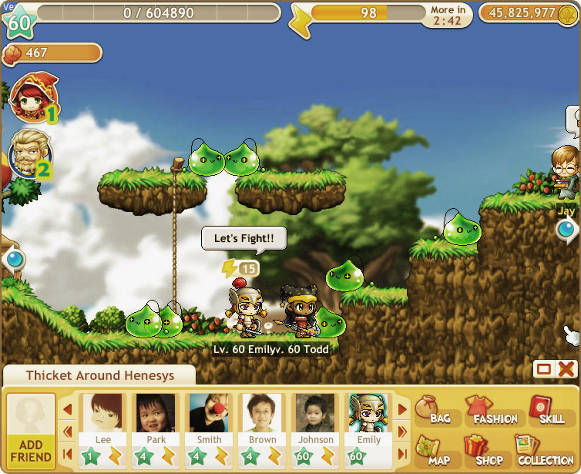 MapleStory Adventures adventure