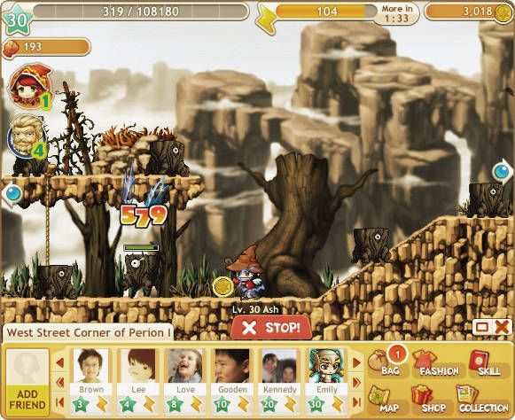 MapleStory Adventures story